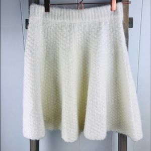 Lovers + Friends White Sweater Skirt size S